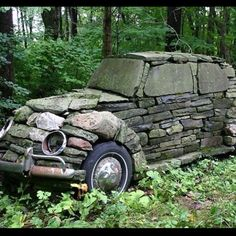 Car of stone