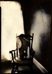 "Lauren E. Simonutti, The Devil's Alphabet: V, 2007 Lauren E. Simonutti From the The Devil's Alphabet series 7 x 5"" toned gelatin silver contact print"