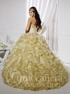 Quinceanera Collection 26744 by House of Wu | Quinceanera Dresses | Quince Dresses | Dama Dresses | www.GownGarden.com
