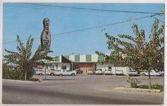 Manteca, California Postcard MANTECA BOWL Bowling Alley Front View c1960s Unused