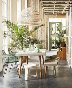 Home Decoration For Living Room Tropical Interior, Tropical Decor, Interior Design Inspiration, Home Interior Design, Interior Ideas, Design Ideas, Natural Interior, 139, Luxury Decor