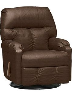 Best Calvin Leather Chair Ottoman With Nailhead Trim By Sam 400 x 300