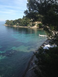 pretty nice lagoon at St. Jean Cap Ferrat.
