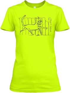 Cat and Fence (Women's T shirt)