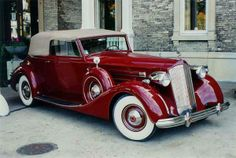 1936 Packard Twelve Roadster
