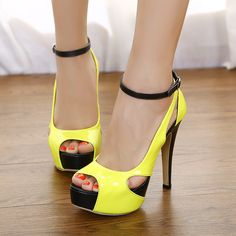 c9fdfefaa835 Fashion celebrities style 2013 thin heels sandals japanned leather high- heeled platform open toe shoes
