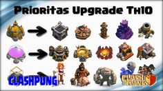 Upgrade Guide Priority at TH10 Clash of Clans