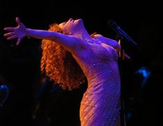 The one, the only Bernadette Peters... my Broadway idol if there ever was one!