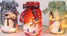 frascos para navidad
