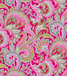 Fashion Cotton- Flourish Pink Voile & Fashion Collections at Joann.com