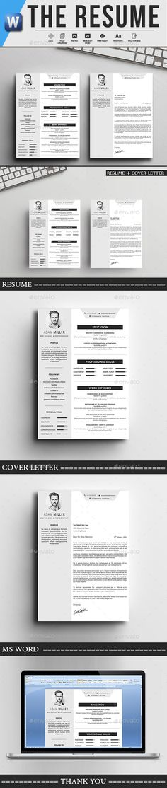 The CV Simple resume template, Cv resume template and Simple resume - easy simple resume template
