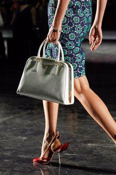 Prada Spring 2012 Ready-to-Wear Fashion Show - Querelle Jansen Fendi, Gucci, Prada Spring, Fashion Show, Fashion Design, Modern Luxury, Ready To Wear, Dior, Vogue