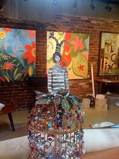 Kentucky artist Deborah Banta Westerfield