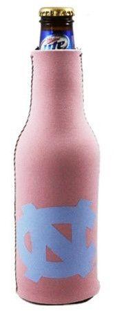 North Carolina Tar Heels Pink Bottle Suit Cooler