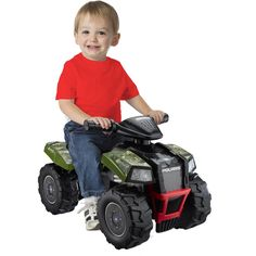 Electric Kids Camo Scrambler ATV Ride-On Toy Ride On ATV Quad 4 WheelerGreen HD #ElectricKidsCamo