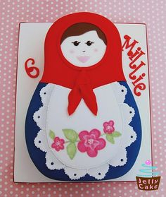 Russian Doll Cake, via Flickr, by Jelly Cake