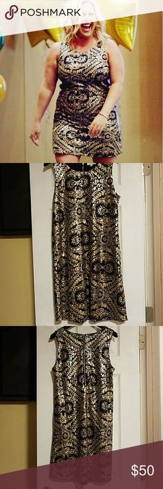 Cocktail Dress If you're looking for glitz and glam....look no more! Everyone LOVED this dress! Very detailed and elegant ♡ worn only 1x Jun & Ivy Dresses Prom
