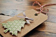 Pretty Christmas tags