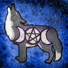 Hey, I found this really awesome Etsy listing at https://www.etsy.com/listing/216724100/triple-goddess-moon-phase-wolf-patch