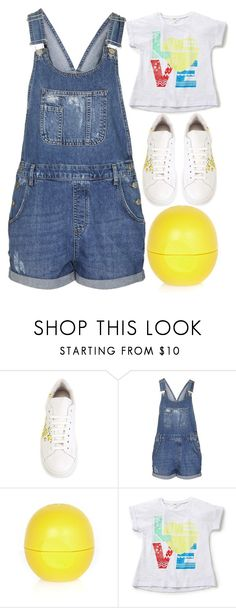 """""""spring cleaning day"""" by j-n-a ❤ liked on Polyvore featuring Joshua's, Topshop and River Island"""
