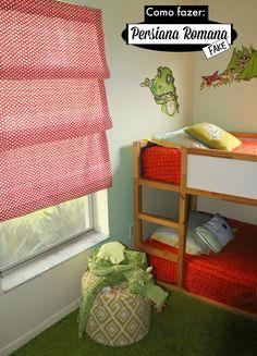 Cortinas romanas para el cuarto de tus pequeños