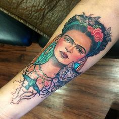 Oh mio dio!! #tattoo #fridakahlo #fridakahlotattoo #istimetonexttattoo #loveit