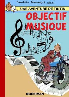 Les Aventures de Tintin - Album Imaginaire - Objectif Musique