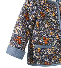 FLORAL PRINT QUILTED JACKET - Coats - Baby girl (3 - 36 months) - Kids | ZARA United Kingdom
