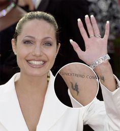 fb4c966d46e21 35 Best Celebrity Wrist Tattoos For Women images in 2017 ...