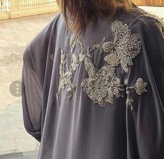 #Abaya #Pearlsinlace