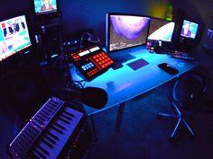 Home studio glow