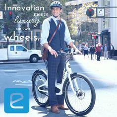 Innovation meets luxury on two wheels. #ElbyBike #eBike #BikeCommute