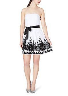 image of Floral Crochet Tube Dress