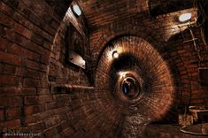 2 Plac Wolnosci to join Detka for a tour of the original underground red-brick sewer system in Lodz, Poland