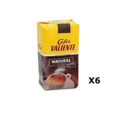 Bestelling Natuurlijke gemalen koffie Valiente  250 Grs