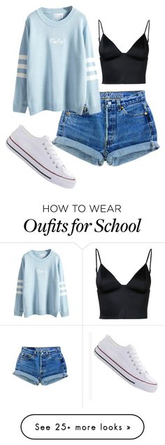 """Untitled #146"" by rowanstella-1 on Polyvore featuring T By Alexander Wang and WithChic"
