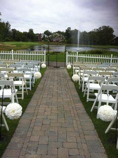 Ceremony set up 8-2