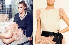 Falda de plumas :) Puedes ver más en nuestra página web : http://dekadamodaropa.wix.com/clothes-shop-es#!tienda/c24nx