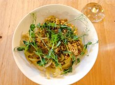 Fennel and lemon pearl barley risotto