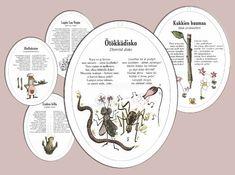 satukiekot Nature Crafts, Homeschool, Decorative Plates, Education, Home Decor, Decoration Home, Room Decor, Onderwijs, Homeschooling