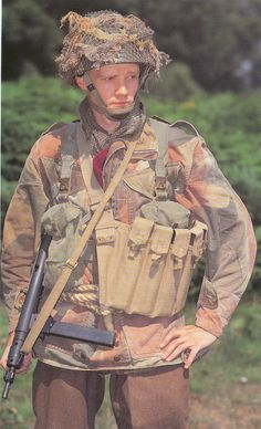 British Paratrooper.