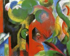 Small Composition III by Franz Marc