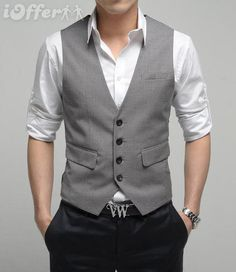 Groomsmen vest (guys can wear their own black slacks)