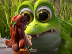 Tinkerbell and the Pirate Fairy, Baby Croc SOOO CUTE!!!