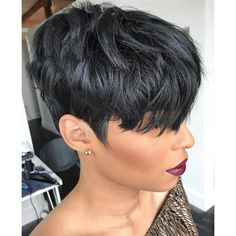 Pixie Cut 4 New Best Short Haircuts for Black Women in 2019 Cute Short Haircuts, Pixie Hairstyles, Short Hairstyles For Women, Ladies Hairstyles, Braided Hairstyles, African Hairstyles, Hair Styles 2016, Curly Hair Styles, Natural Hair Styles