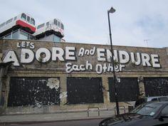 East London grafitti