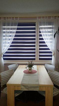 #vnitrnirolety #latkoverolety #rolety #denanoc #roletydenanoc #platinum #interier #inspirace #jidelny Blinds, Curtains, Nature, Home Decor, Naturaleza, Decoration Home, Room Decor, Shades Blinds, Blind