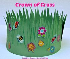 Crown of Grass -Easter bonnet?