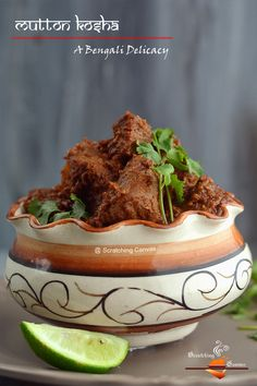 Bengali Kosha Mangsho | Mutton Kosha | Spicy Mutton (dry) Curry