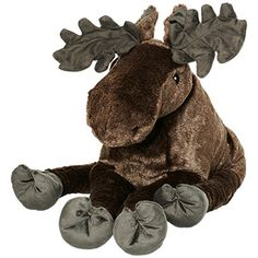 Ikea Strova 20 Big Swedish Elk Wildlife Stuffed Animal Childrens Soft Toy Play *** To view further for this item, visit the image link. Ikea Kids, Kids Zoo, Animals For Kids, Cuddles And Snuggles, Moose Toys, Wishes For Baby, Pet Toys, Children's Toys, Baby Gifts